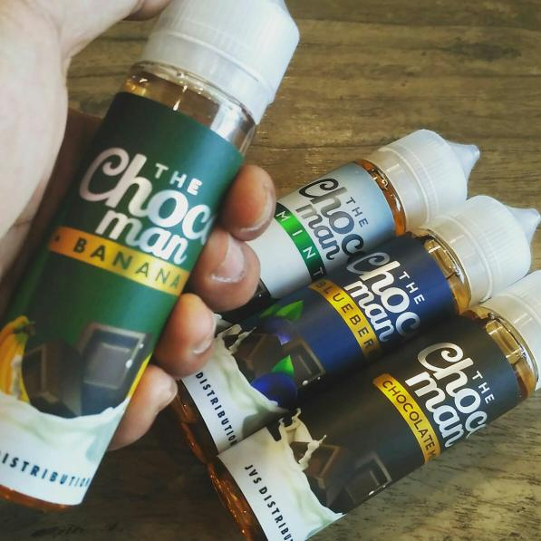 Liquid Vape Ejuice Vapor The Cocoman 60 ML All Varian